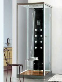 Душевая кабина Liberti Aurora 9902 black (90x70)