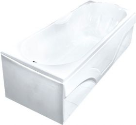 Акриловая ванна Bach Лаура 120х70 Система 0