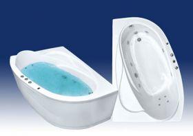 Акриловая ванна Bach Белла 165х110 R/L Система 0