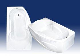 Акриловая ванна Bach Стар 169х100 R/L Система 0