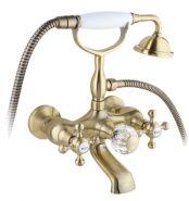 Cмеситель для ванны и душа Timo Nelson 1914Y Antique