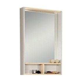 Зеркало-шкаф Акватон Йорк 55 (белый/ясень)