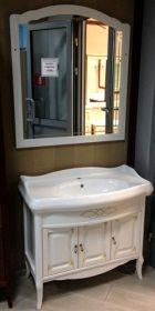 Комплект мебели для ванной Opadiris Лоренцо 100 белый