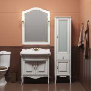 Комплект мебели для ванной Opadiris Лоренцо 80 белый